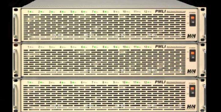 Cargas electrónicas DC Multicanal